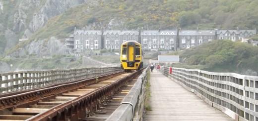 Train on a track copyright Karen Cropper