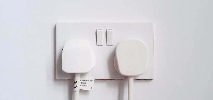 wordpress plugins two white electrical plugs in double socket