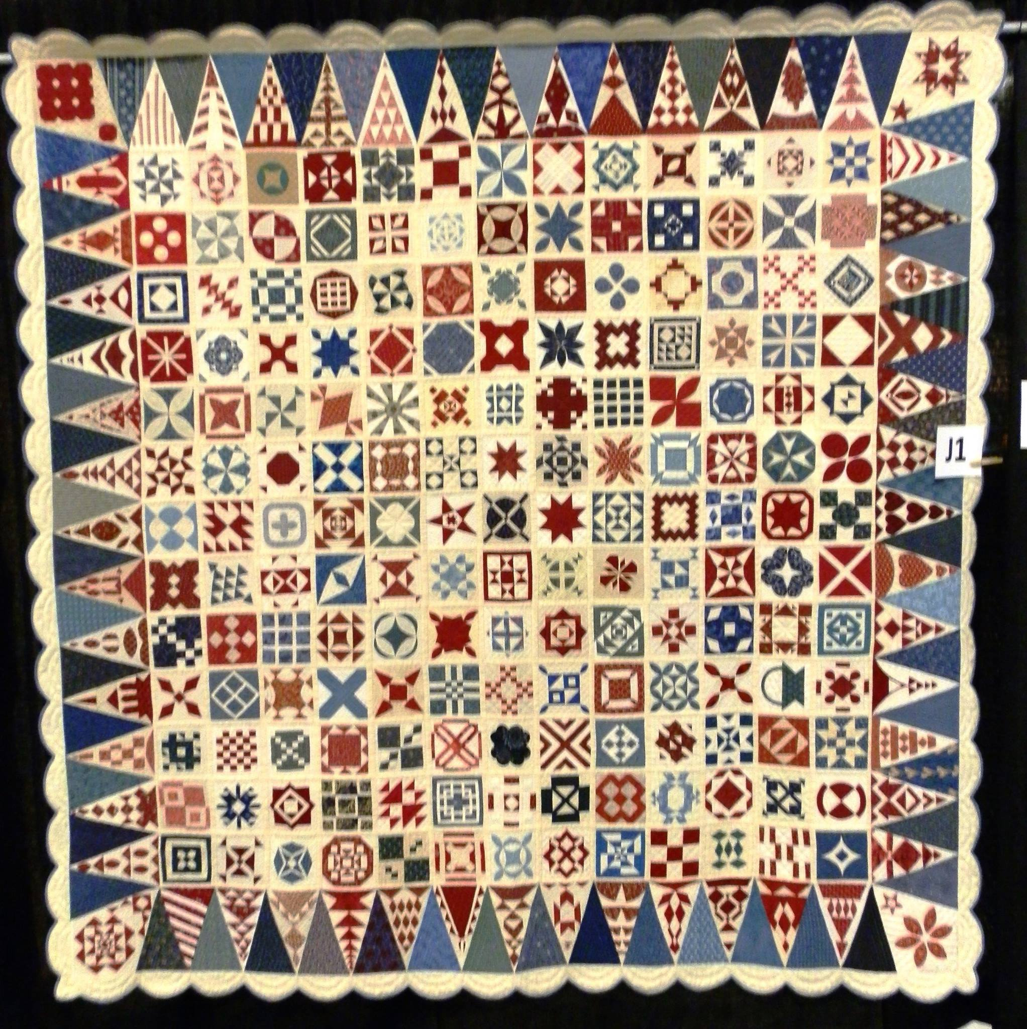 Dear jane and the mathematics of quilts